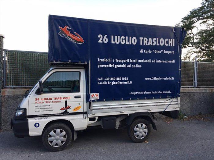 Il mezzo che usiamo per percorrere i vicoli di Genova!