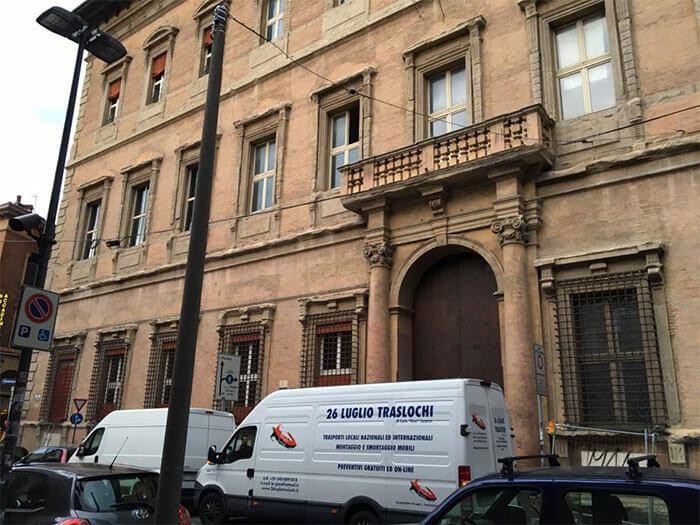 Trasloco a Bologna