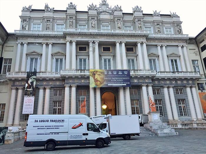 Traslochi a Genova, Palazzo Ducale